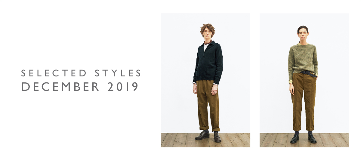 SELECTED STYLESのご紹介